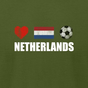 Netherlands Football Netherlander or Dutch Soccer - Men's T-Shirt by American Apparel
