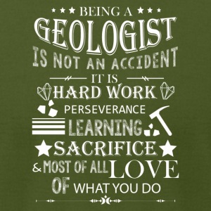 Proud Geologist Tee Shirt - Men's T-Shirt by American Apparel