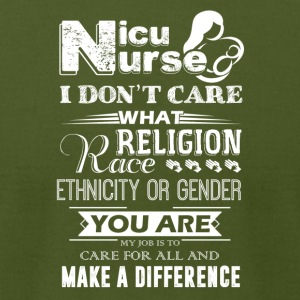 Nicu Nurse Make A Difference Shirt - Men's T-Shirt by American Apparel