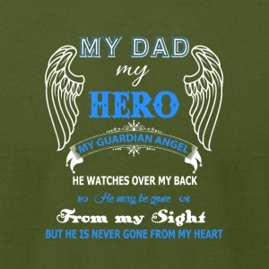 Guardian Angel Dad T Shirt - Men's T-Shirt by American Apparel