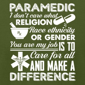 Paramedic Tee & Hoodie - Men's T-Shirt by American Apparel
