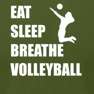 Eat Sleep Breathe Volleyball - Men's T-Shirt by American Apparel
