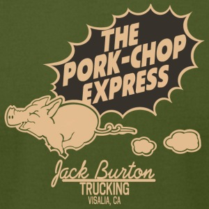 The Pork-Chop Express - Men's T-Shirt by American Apparel