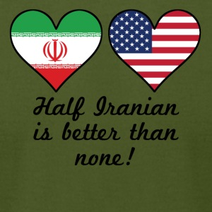 Half Iranian Is Better Than None - Men's T-Shirt by American Apparel