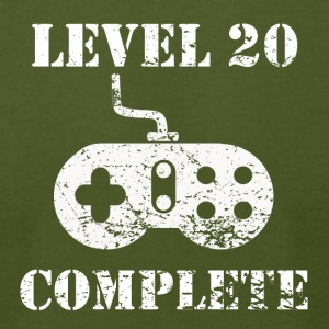Level 20 Complete 20th Birthday - Men's T-Shirt by American Apparel
