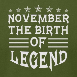 November The Birth of Legend - Men's T-Shirt by American Apparel