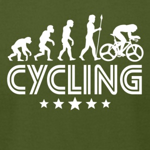 Retro Cycling Evolution - Men's T-Shirt by American Apparel