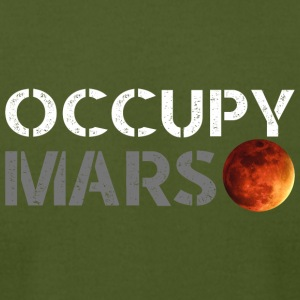 occupy mars - Men's T-Shirt by American Apparel