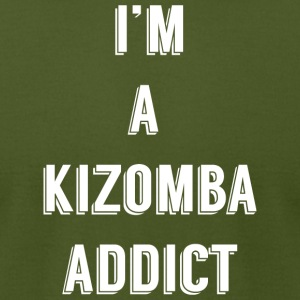 im_a_kizomba_addict_blanc - Men's T-Shirt by American Apparel