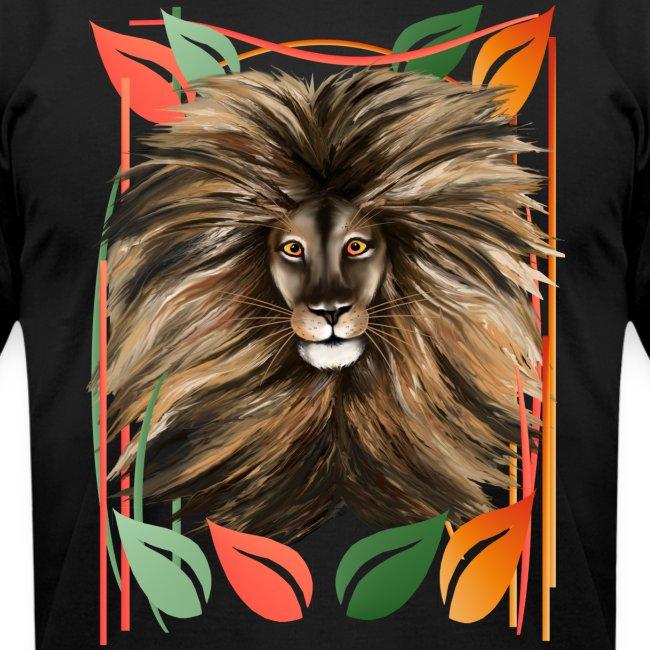 Big Cat and Colorful Jungle