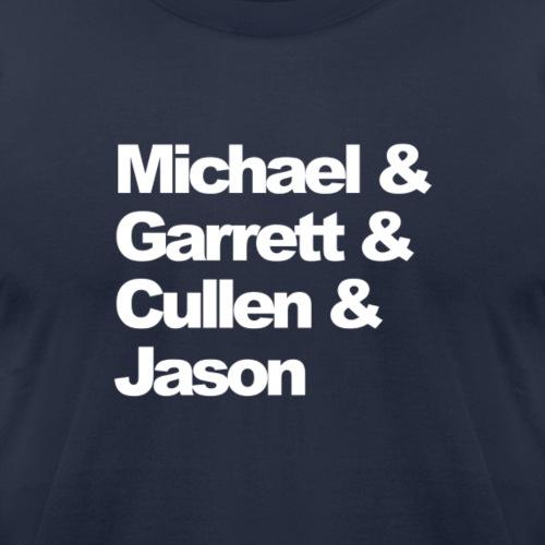 michael garrett cullen jason - Unisex Jersey T-Shirt by Bella + Canvas