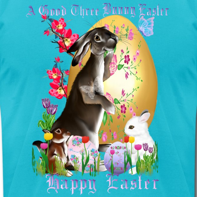 A Good Three Bunny Easter (lettered)