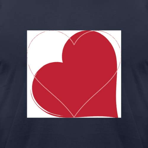 Hearts - Unisex Jersey T-Shirt by Bella + Canvas