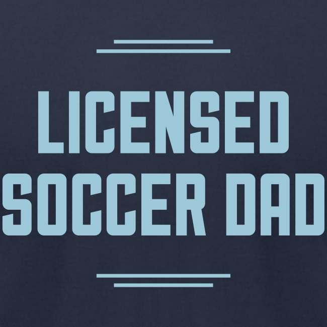 Licensed Soccer Dad Men's Tee