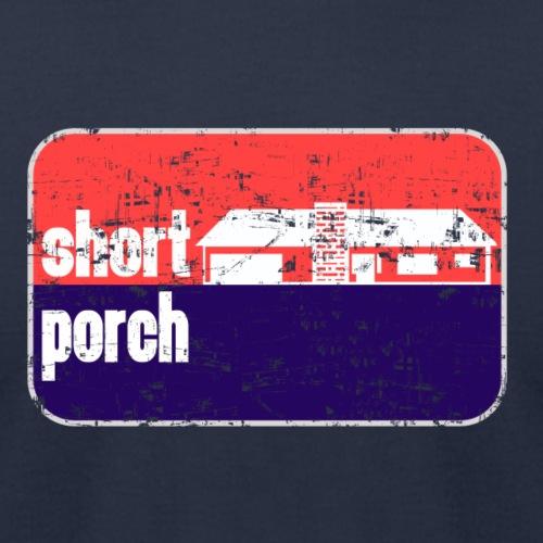 Short Porch - Unisex Jersey T-Shirt by Bella + Canvas