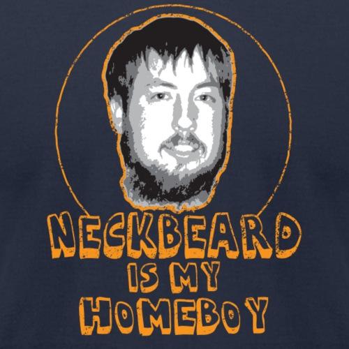 Neckbeard is my Homeboy - Unisex Jersey T-Shirt by Bella + Canvas