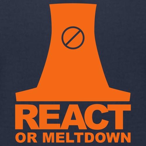 REACTor MELTDOWN - Men's Jersey T-Shirt