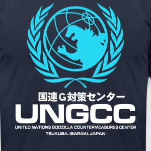 Japan UNGCC GODZILLA VS MECHAGODZILLA Movie - Men's T-Shirt by American Apparel