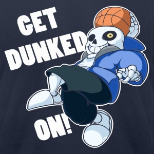Undertale Sans Dunked - Men's T-Shirt by American Apparel