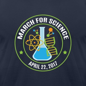 March for Science 2017 - Men's T-Shirt by American Apparel