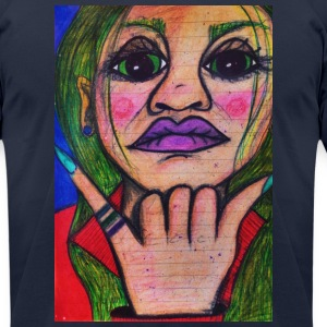 LuckyPen Art - Men's T-Shirt by American Apparel