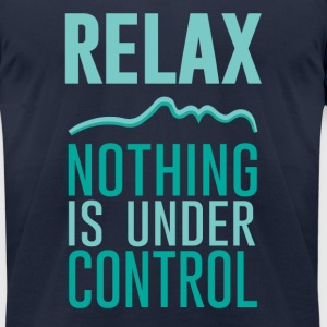 Relax - Men's T-Shirt by American Apparel