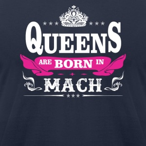 birthday march queen are born in march - Men's T-Shirt by American Apparel