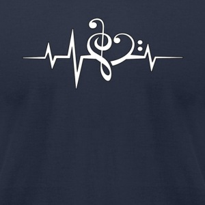 Music is Life For Women - Men's T-Shirt by American Apparel