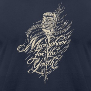 Microphone for the youth - Men's T-Shirt by American Apparel