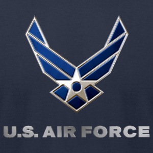 USAF - Men's T-Shirt by American Apparel