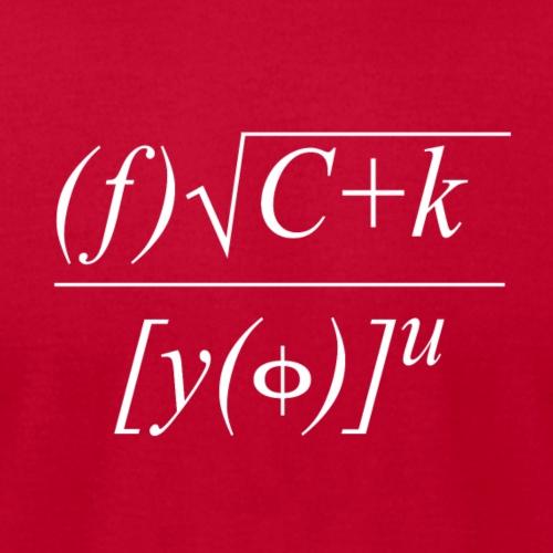 Math Formula - Men's Jersey T-Shirt