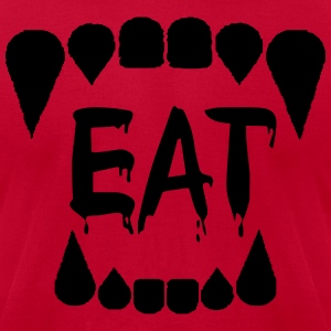EAT - Men's T-Shirt by American Apparel