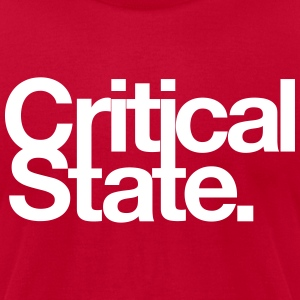 Critical State Merchandise - Men's T-Shirt by American Apparel