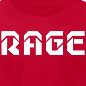 RAGE logo 2017 - Men's T-Shirt by American Apparel