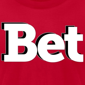 bet - Men's T-Shirt by American Apparel