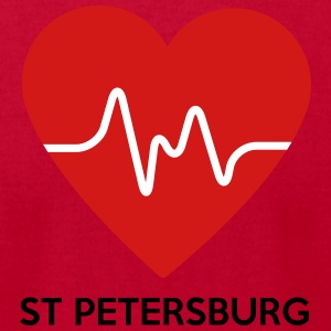 Heart St Petersburg - Men's T-Shirt by American Apparel