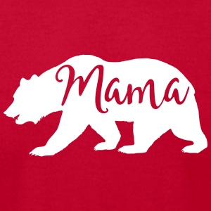 mama bear - Men's T-Shirt by American Apparel