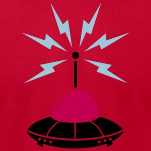ufo - Men's T-Shirt by American Apparel
