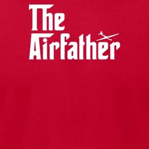 The Airfather Glider Pilot - Men's T-Shirt by American Apparel