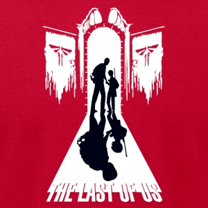 The last of us - Men's T-Shirt by American Apparel