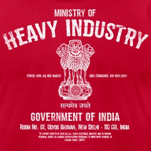 Ministry of Heavy Industry - Men's T-Shirt by American Apparel