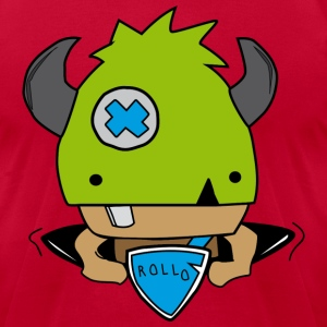 Rollo, the little viking - Men's T-Shirt by American Apparel