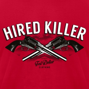 Hired Killer - Men's T-Shirt by American Apparel