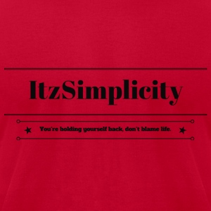 ItzSimplicity's Quote - Men's T-Shirt by American Apparel