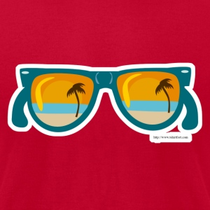 Sunset Sunglasses - Men's T-Shirt by American Apparel