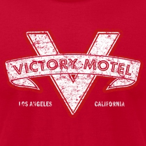 Victory Motel - Men's T-Shirt by American Apparel