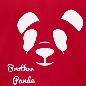 Brother Panda - Men's T-Shirt by American Apparel