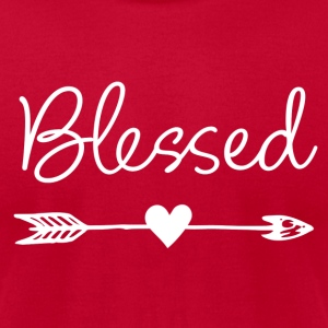 Feel Blessed - Men's T-Shirt by American Apparel