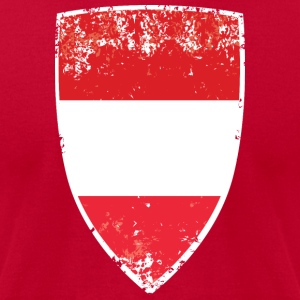 Flag of Austria - Men's T-Shirt by American Apparel