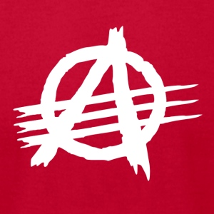 AAA [Against All Authorities] - Men's T-Shirt by American Apparel